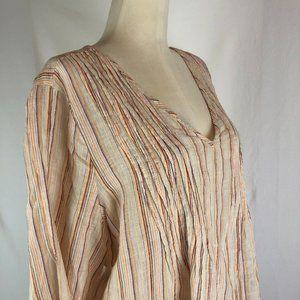 Sundance Discover Life Linen Stripe Prairie Tunic